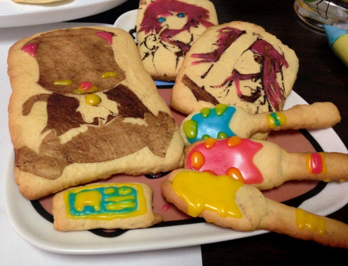 誰もやらないなら私がやる第4弾、クッキーでARIA。人生初クッキーのため不恰好はご容赦!反省点が多いのでいつかリベンジし