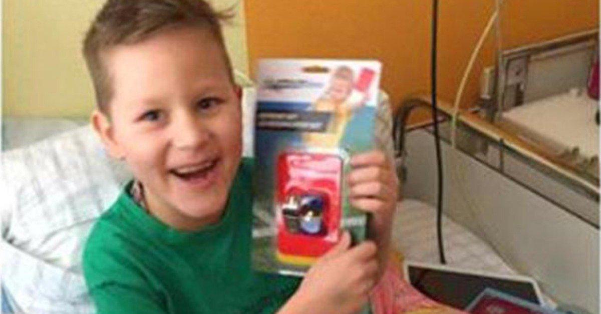 Kampf gegen Krebs: Dieser Junge hat einen einfachen Wunsch – und ihr könnt ihn erfüllen https://t.co/QNT7PdyOXg