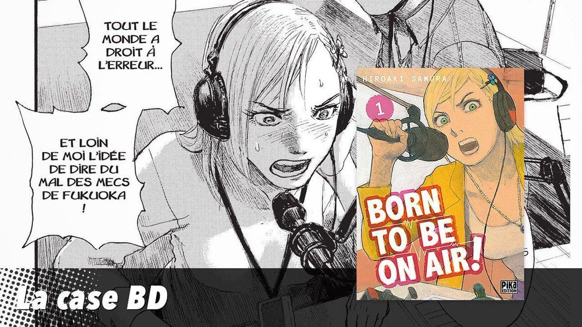 La case BD: Born to be on air ou le manga qui regorge de bonnes ondes https://t.co/3Clt0s0t8Z
