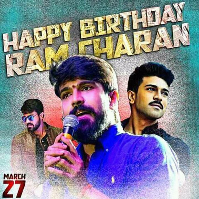 Advance Happy Birthday Ram Charan Common Dp for