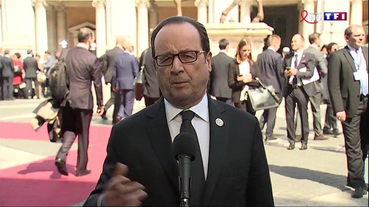 A Rome, François Hollande appelle à la force pour 'faire face au terrorisme' https://t.co/iBpZayBdKV