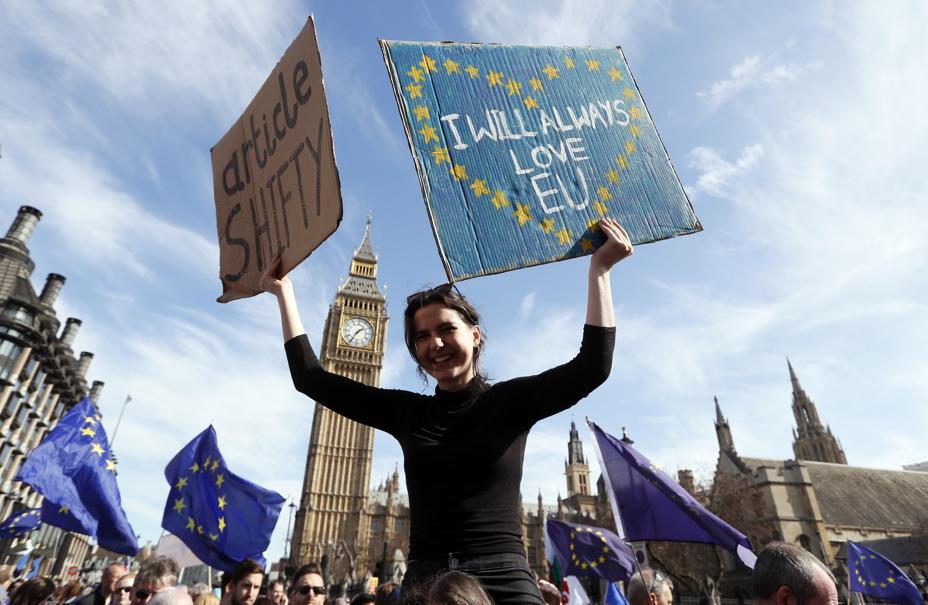 📸 EN IMAGES - Manifestation contre le Brexit à Londres ➡️ https://t.co/jzoHv0gXl6