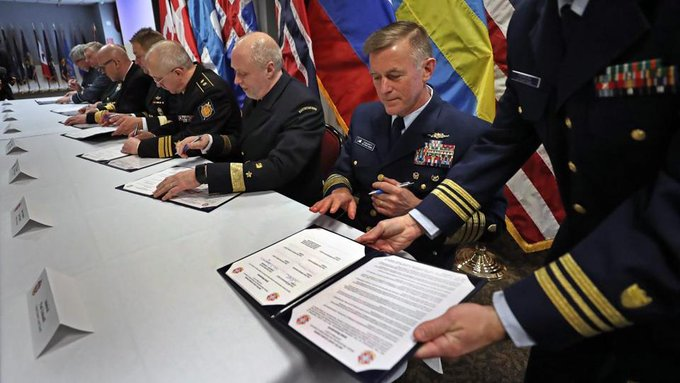 Eight nations have signed off on a common doctrine of tactics and information sharing for Arctic operations. https://t.co/DRitwITgPS