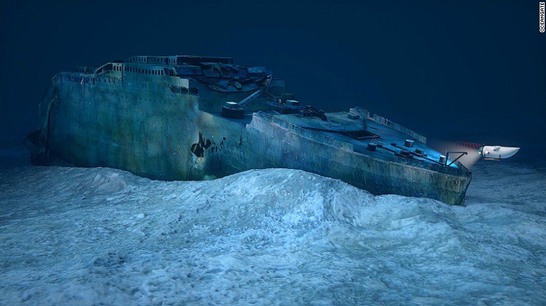 Tourist dives to the Titanic wreck site are planned to begin in May 2018 https://t.co/MDU9SrMxV1 https://t.co/uxR0eCanUr