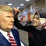Turkish culinary festival features bust of Donald Trump — made of cake icing