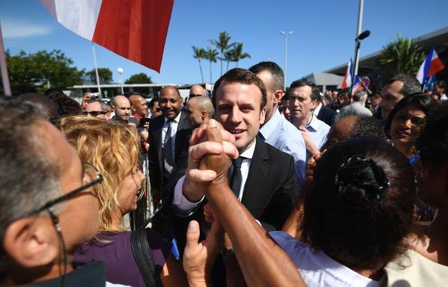 VIDEO. Présidentielle: Macron accueilli en rockstar à La Réunion