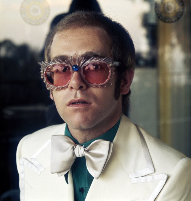 Happy 70th birthday to my absolute hero Sir Elton John! I love you and I owe you so much. See you in June!