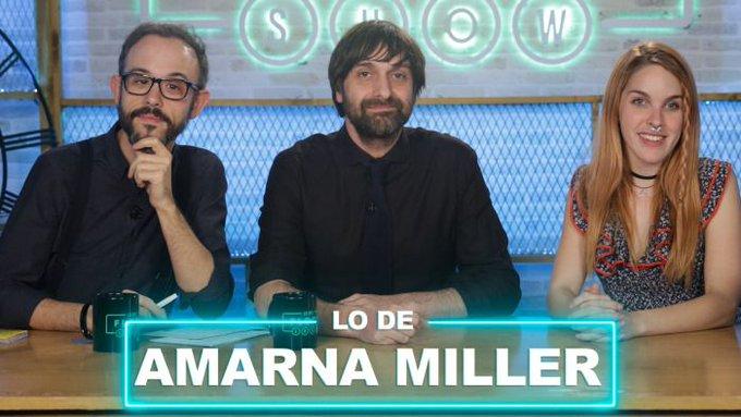 Aquí tenéis mi entrevista en @LodelFlooxShow @flooxer #AmarnaMillerFS https://t.co/5LiEjfPnb6 https://t