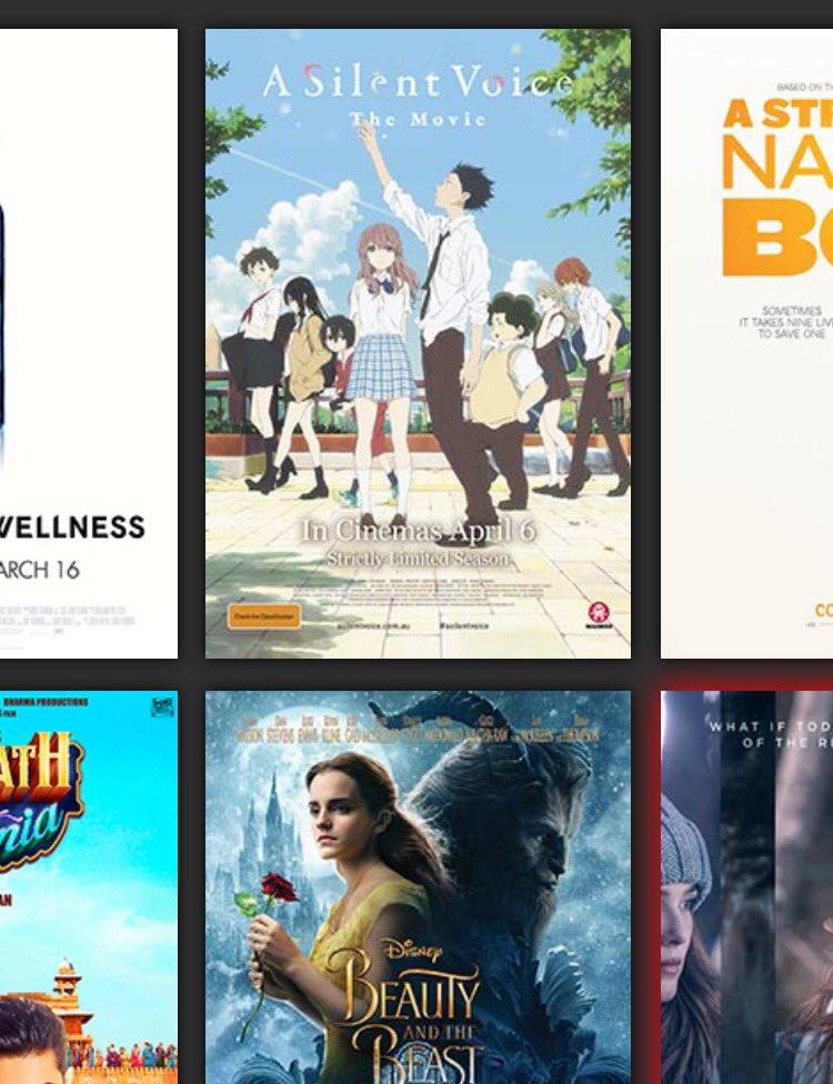 #聲の形 が、#ニュージーランド でも上映決定😆 日本の映画が映画館で上映してくれるのは、海外組にはとても嬉しいです😊