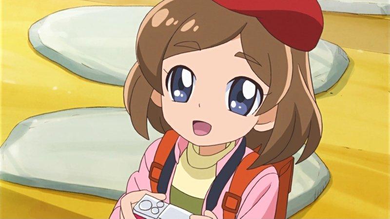 えみるちゃんは『ふらいんぐうぃっち』の千夏ちゃんか。 #precure