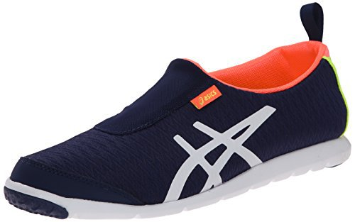 #fashion #shoes #running #free #style #giveaway #win ASICS Women's Metrolyte Slip On Walking Shoe, Navy/White/Coral, 10 M US #rt