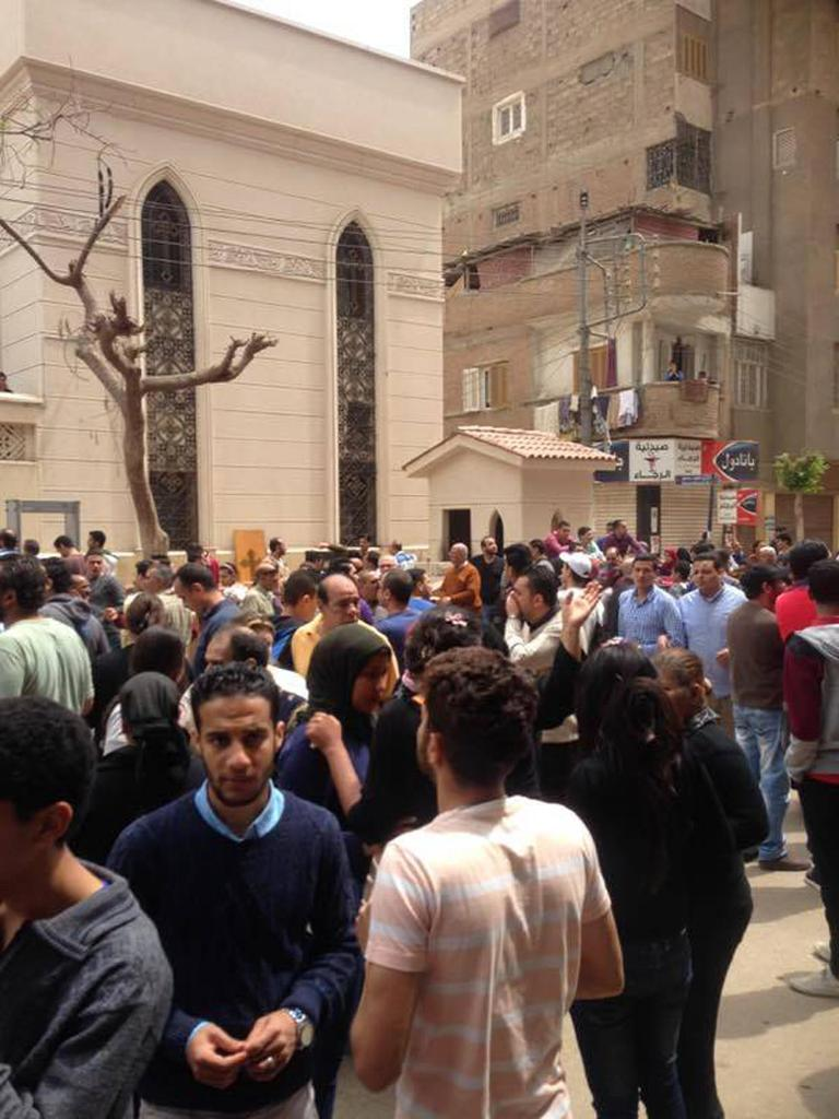 Blasts at two churches in Egypt kill dozens on Palm Sunday: