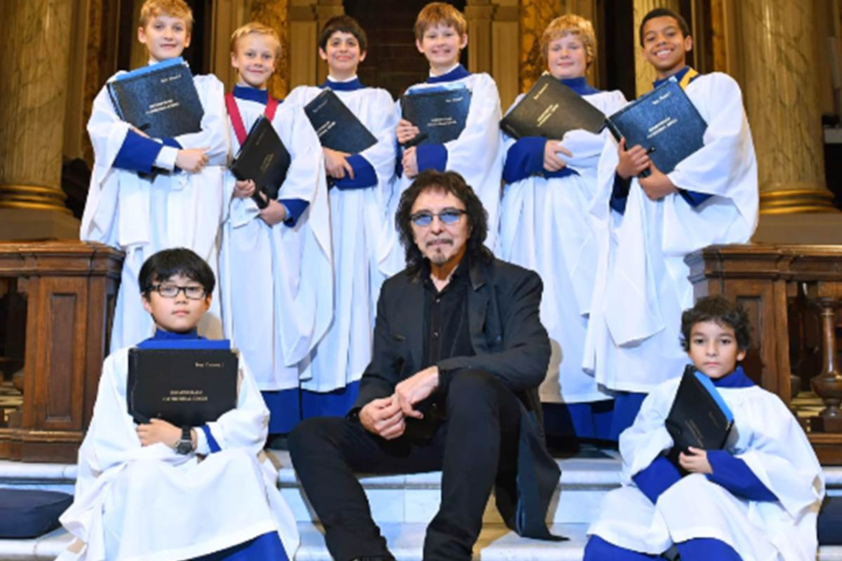 Black Sabbath's high priest of heavy metal goes from raising hell to holy music