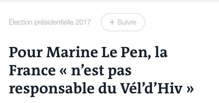 Tranquillou billou, la petite saillie négationniste de #MarineLePen  �� https://t.co/Z0TcPCYl9t