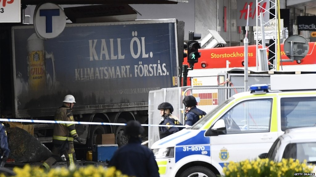 Everything indicates Stockholm truck crash is 'a terror attack' - Swedish PM Stefan Lofven  https://t.co/LnYjcNrNou https://t.co/0txA9k9wHc