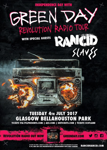 Tuesday 4th July 2017 Glasgow Bellahouston Park  More info and tickets: https://t.co/VIdpOQ5uEd https://t.co/CJ7PY2zgww
