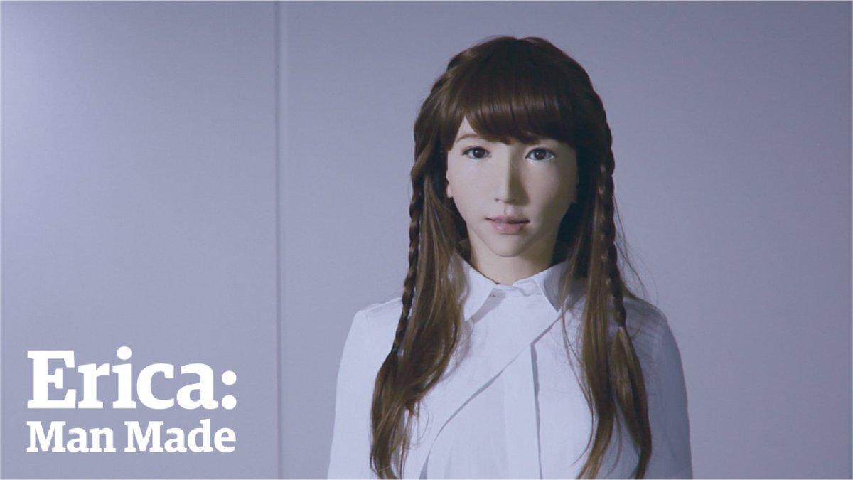 RT @guardiantech: Meet Erica, the world's most human-like autonomous android https://t.co/FU9LfVNrF7 https://t.co/JrILXMyQDm