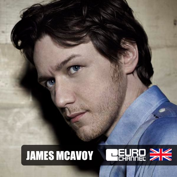 Eurochannel wishes a very happy birthday to James McAvoy!