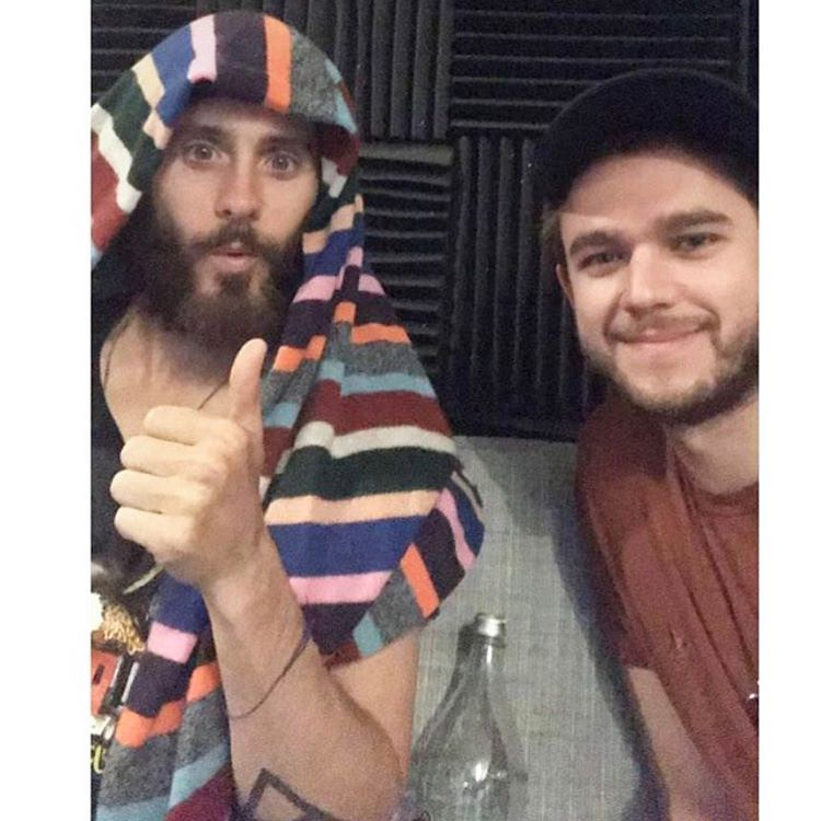Me and @zedd ???????????? https://t.co/4wZr1bBeGG