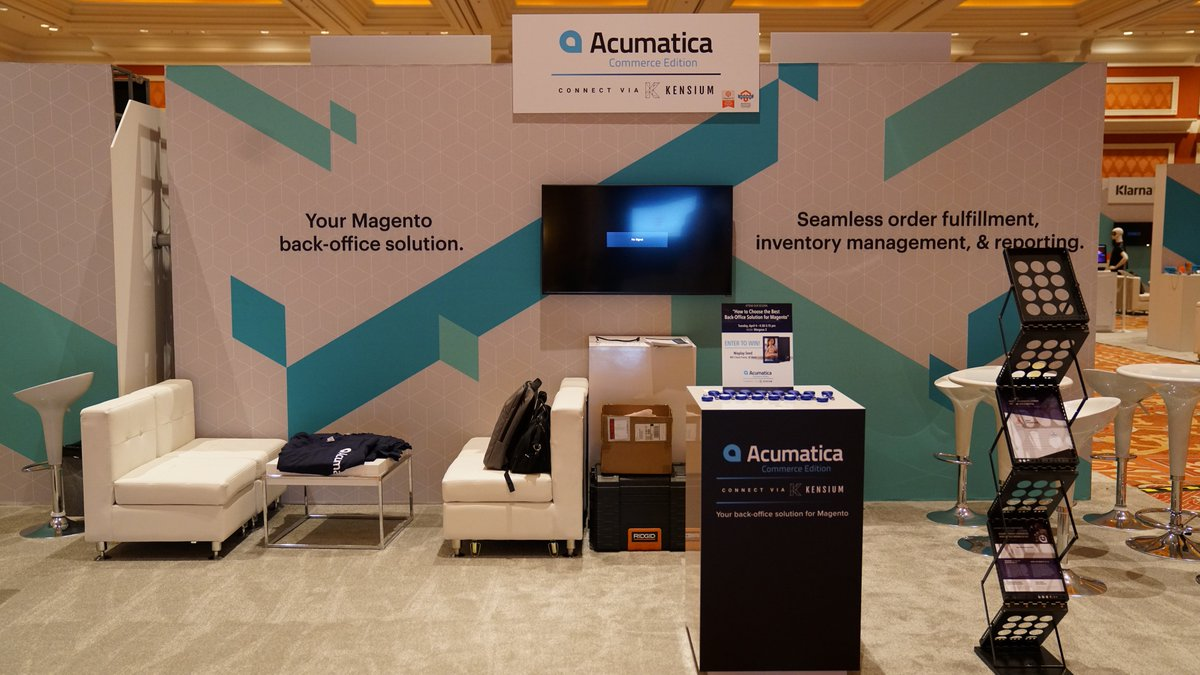 kensium: We received overwhelmingly positive feedback on @Acumatica Commerce Edition from attendees at #MagentoImagine https://t.co/7M3cov1f1k