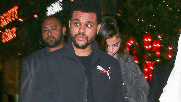 Selena Gomez and The Weeknd show some PDA on the streets of L.A.