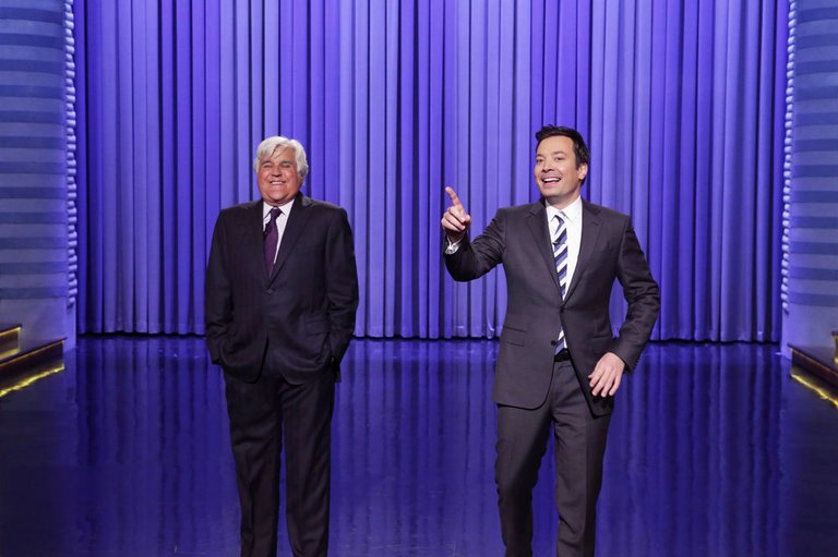 .@jayleno returned to TonightShow last night to roast Donald Trump and Bill Clinton (VIDEO)