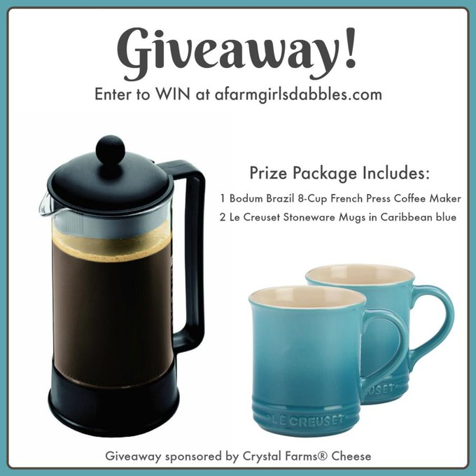 Brunch Coffee Lover Giveaway • a farmgirl's dabbles