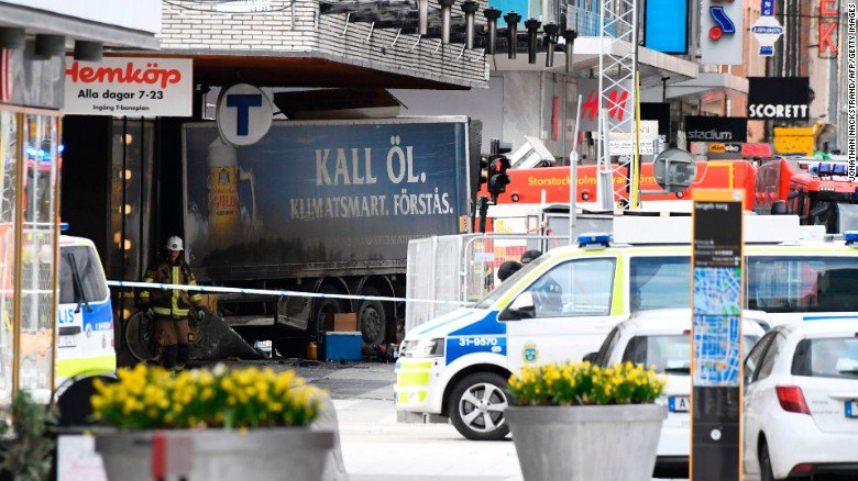 Police make arrest in connection with deadly truck attack in Stockholm, Sweden