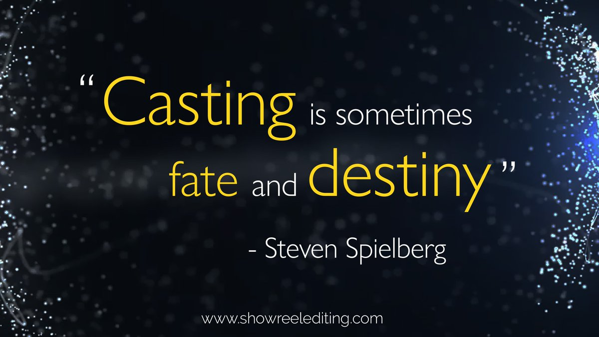 #Acting Advice: Show range in your reel, but focus on the characters most suitable for your casting type. #actorslife