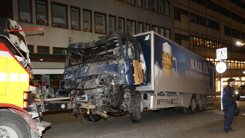 Man arrested on strongest level of suspicion for terror crime over Sweden attack