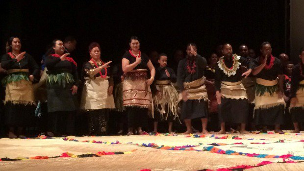 Tongan royal family attends historic album launch at Auckland's Mangere Arts Centre