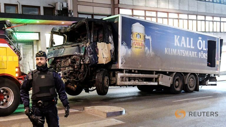 Stockholm truck attack suspect from Uzbekistan: Police