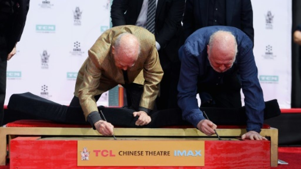 Hollywood honors father-son filmmakers Carl and Rob Reiner
