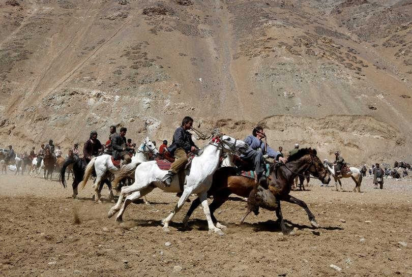 Traditional 'goat pulling' sport outlasts Afghan wars, politics