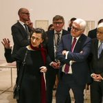 Greek, German presidents open art exhibition in Athens