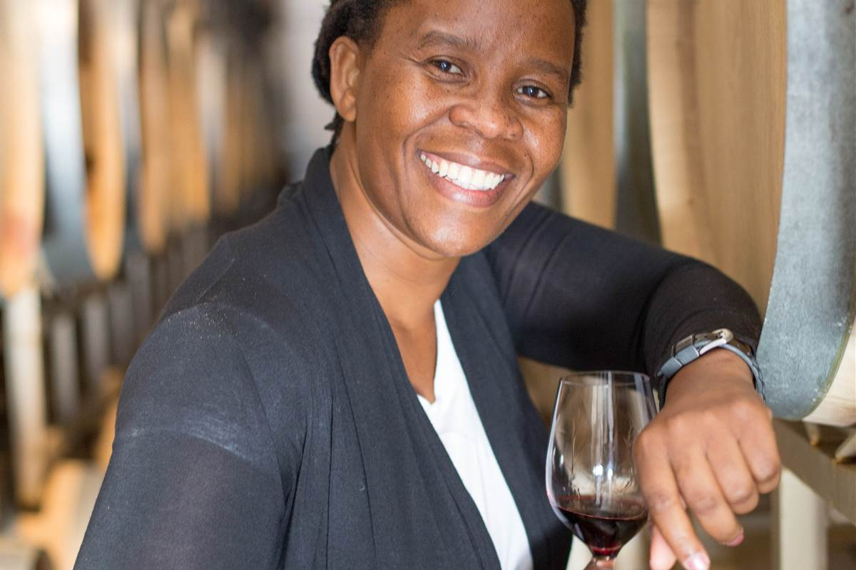 South Africa's first black female winemaker launches her own brand