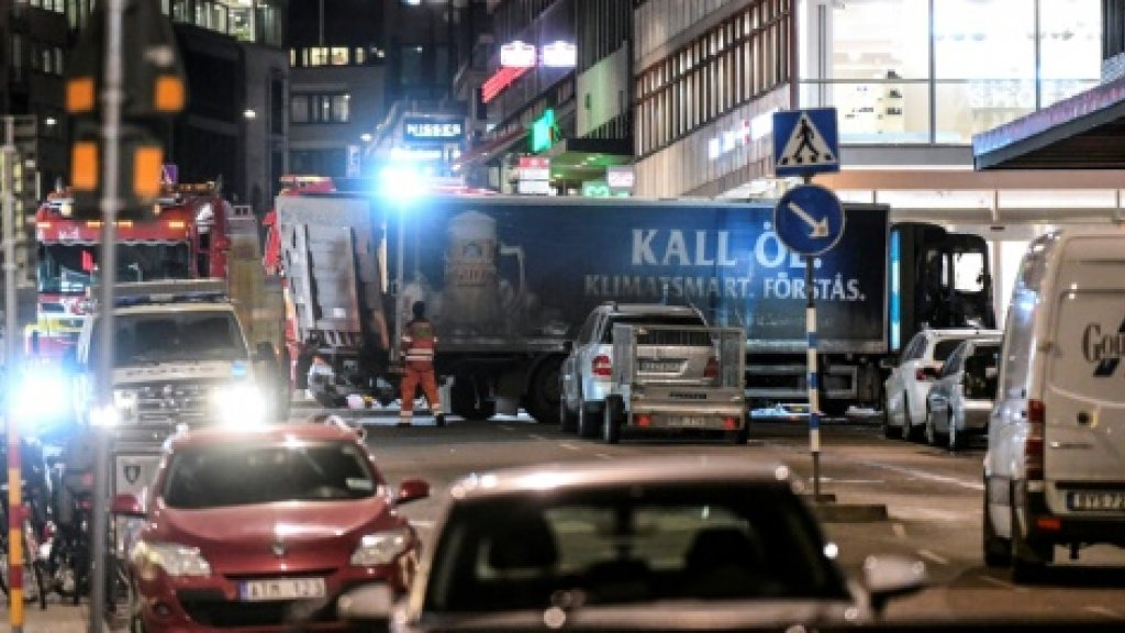 Sweden arrests suspected driver of Stockholm terrorist crime'