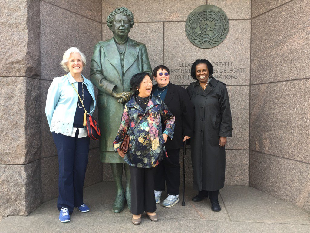 test Twitter Media - Some of our women leaders at APA visiting Elanor Roosevelt. https://t.co/X8tYDyRvjP