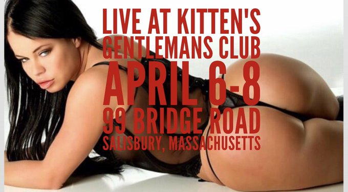 On my way to Kittens for my last night here in Massachusetts. 2 shows 1030 and 12am 💃💃💃💃 https://t.c