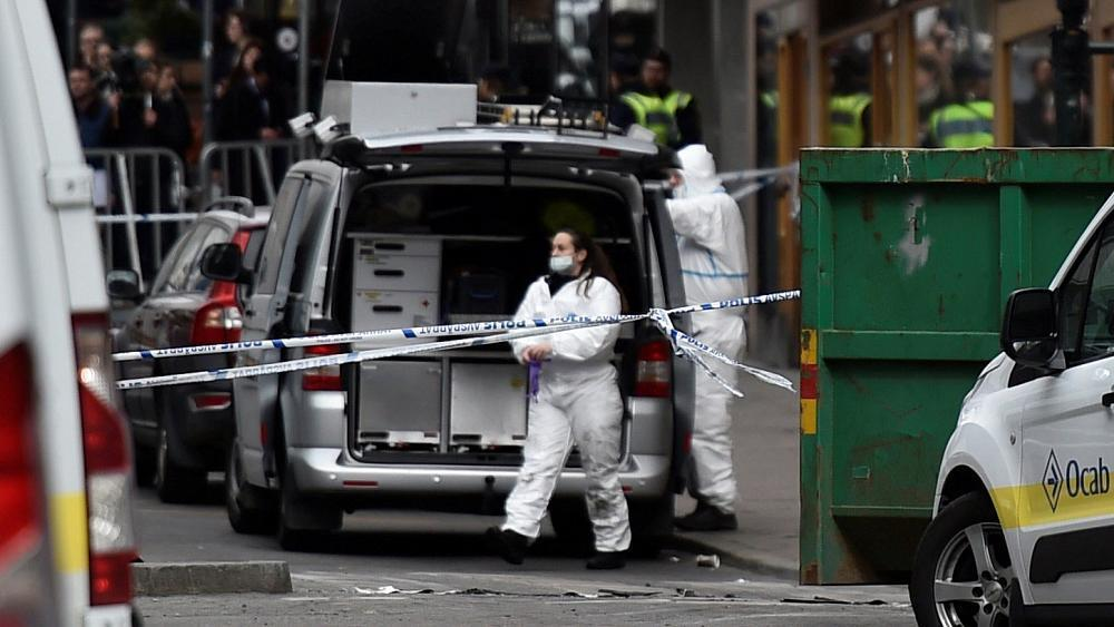 Sweden attack: police confirm 'suspect device' found in lorry