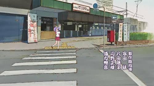 様々なアニメで描かれてきた、『春日部駅』#クレヨンしんちゃん は忠実なのとテキトーなのが混ざっている。#らき☆すた #旦