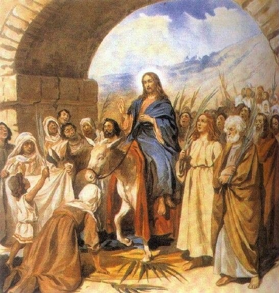 #Сегодня  отмечается большой православный праздник - Вход Господень в Иерусалим. С праздником! https://t.co/EgvV72N5ZO