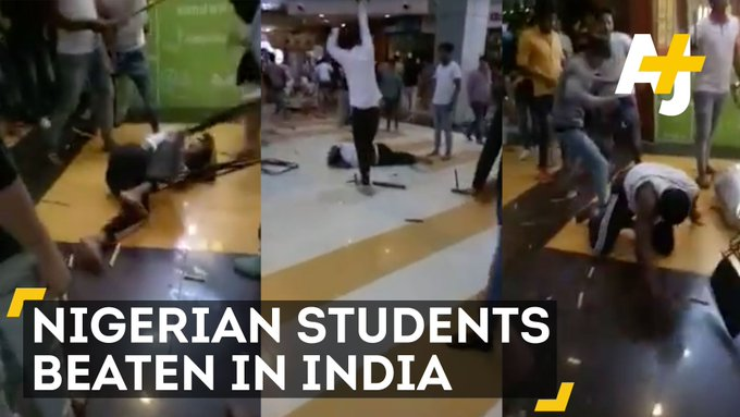 An Indian mob brutally attacked Nigerian students and the incident is causing the nation to address racism.