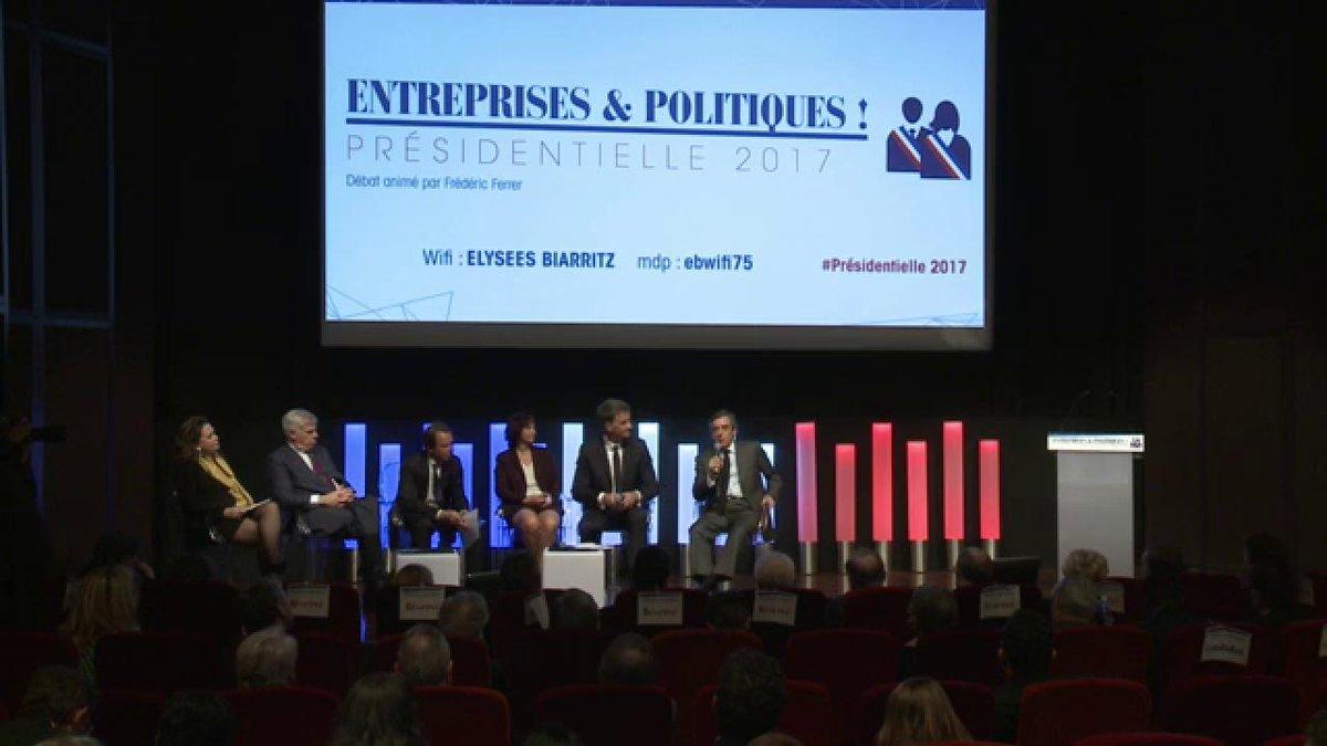 Conclusion de @FrancoisFillon qui clôt la première matinale #Presidentielle2017 du @medef.