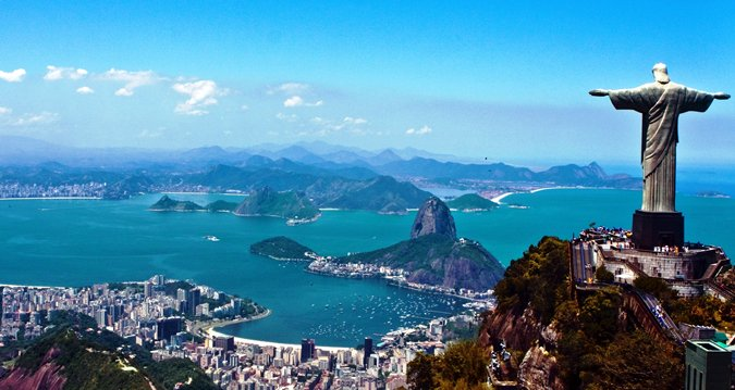 We think that this looks such a wonderful place to visit! #RioDeJaneiro #Brazil #Chris ...