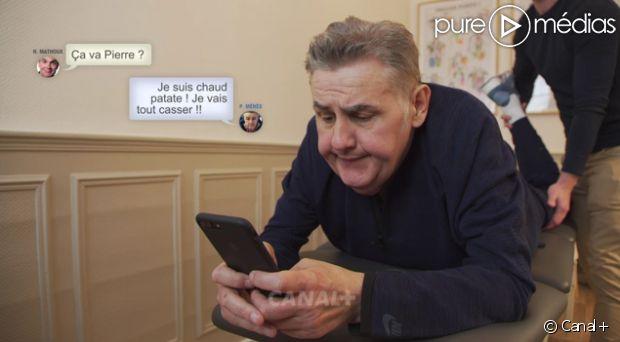 Pierre Ménès compte 'tout casser' pour son retour dans le CFC dimanche 2 avril https://t.co/OQDieil83E
