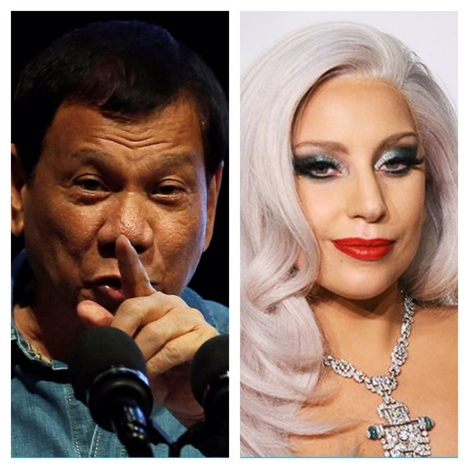 Happy birthday to monster worker Pres. Duterte & mother monster Lady Gaga!