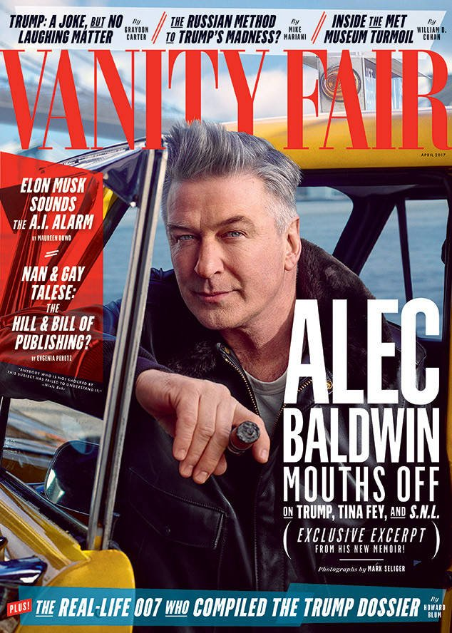 "Alec Baldwin reveals the moment he ""fell in love"" with Tina Fey:"