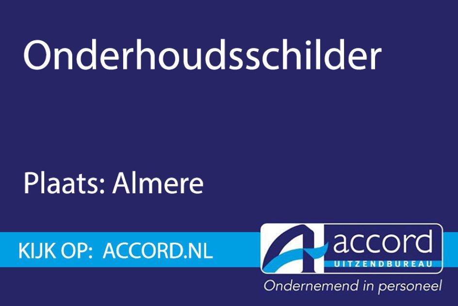 test Twitter Media - #Vacature: Ben jij de onderhoudsschilder die per direct kan beginnen? Bel ons dan op 036 5343788 of stuur een email naar almere@accord.nl! https://t.co/2oMKniuVk5
