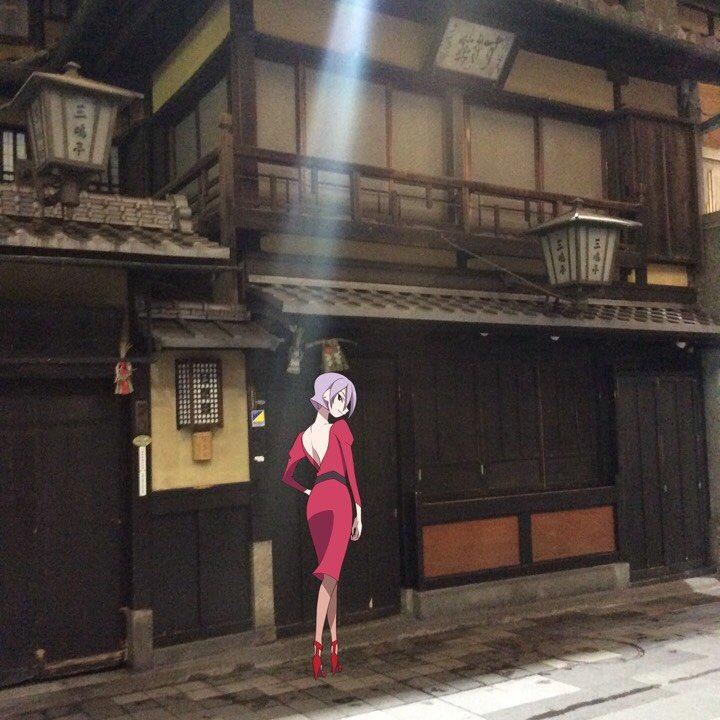 舞台めぐりセレクション【3月28日】本日の一枚!有頂天家族の世界観は京都の素敵な街並みと共にありますよね〜二期も楽しみで